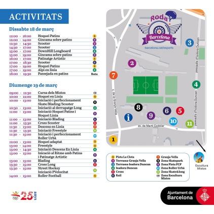 Mapa activitats roda